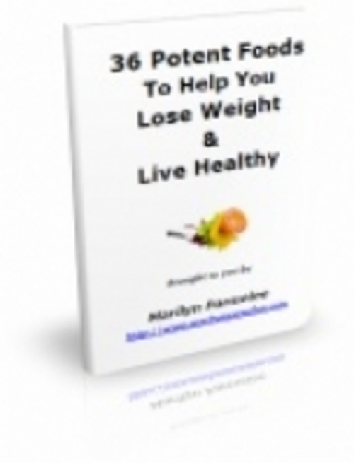 Product picture 36 Potent Foods To Help You Lose Weight - PRL