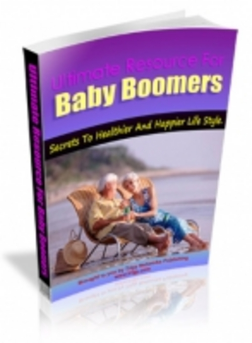 Product picture Ultimate Resource For Baby Boomers